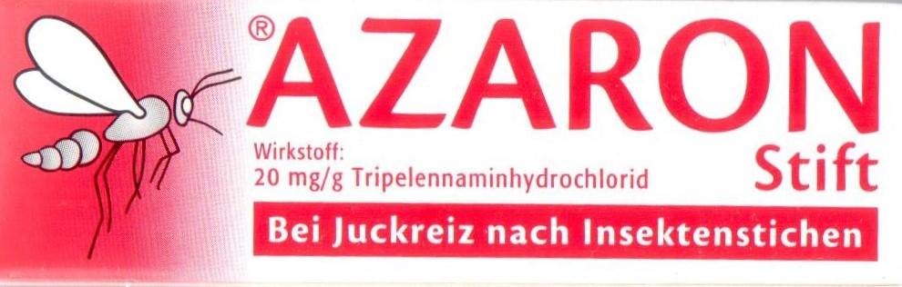 Azaron Stick 5,75g PZN: 03099625 Jucken