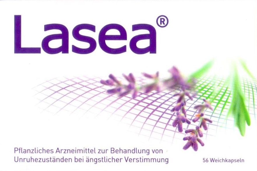 Lasea 56 Stück Lavendelöl Kapseln Stress Entspannung