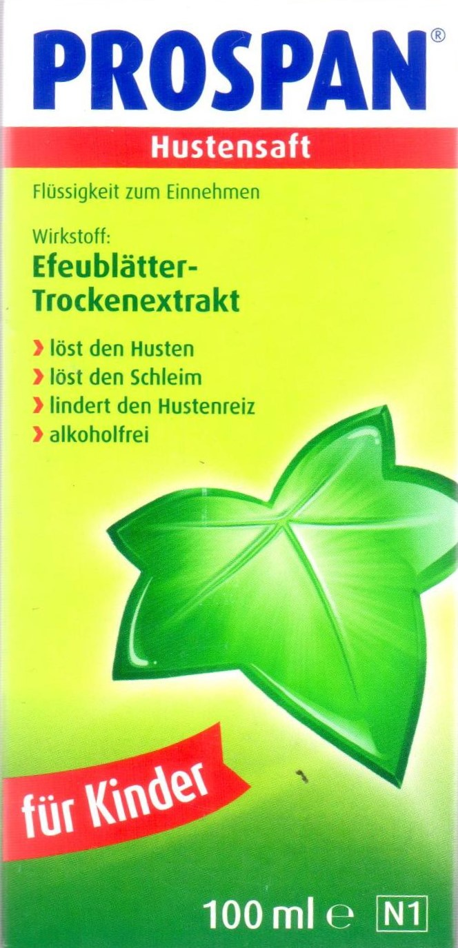 Prospan Hustensaft für Kinder 100 ml PZN 08585997 Husten