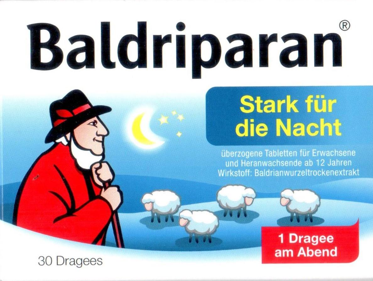 Baldriparan Nacht 30 St PZN 00499175 Schlaf Stress