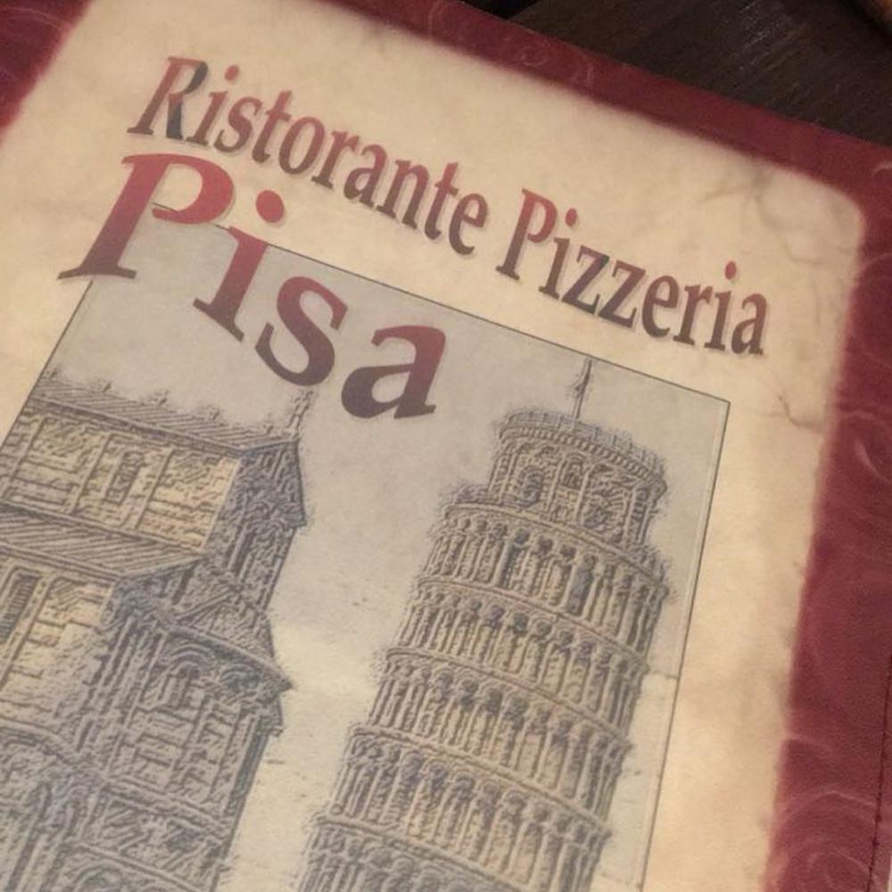 Pizza e´ Pasta su Pisa (Menu)