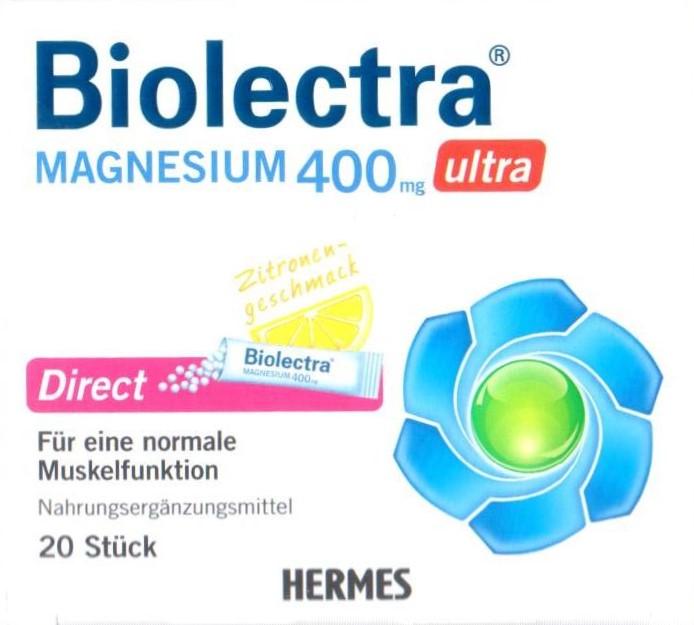 Biolectra Magnesium 400mg 40 St Pellets PZN: 10252180 Krampf