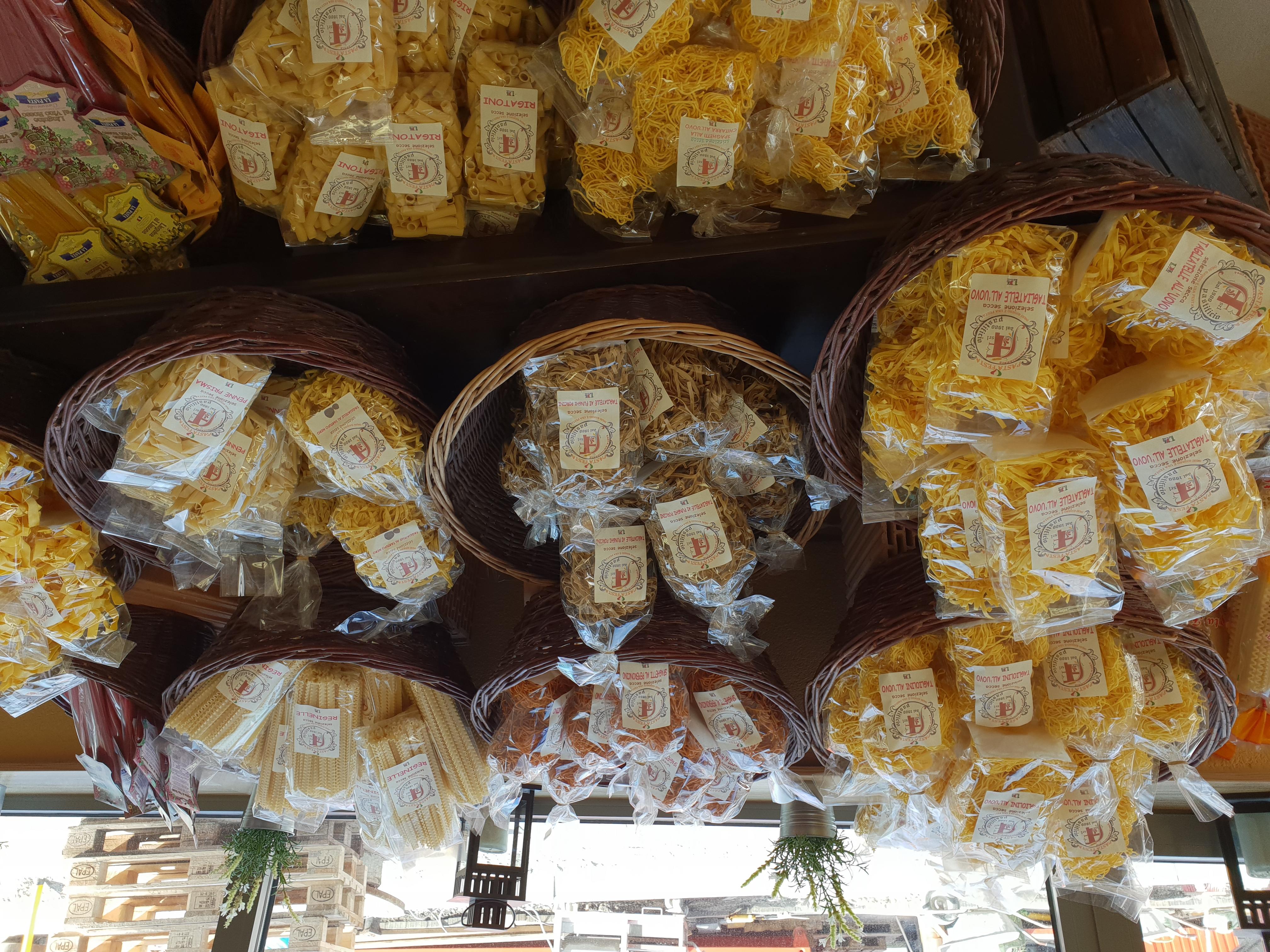 Ideen für Ihren nächsten Einkauf: Pasta/Nudeln, Saucen, Wurst, Käse, Olivenöl, Balsamico, hier finden Sie alles für die mediterrane und kulinarische Küche zu Hause