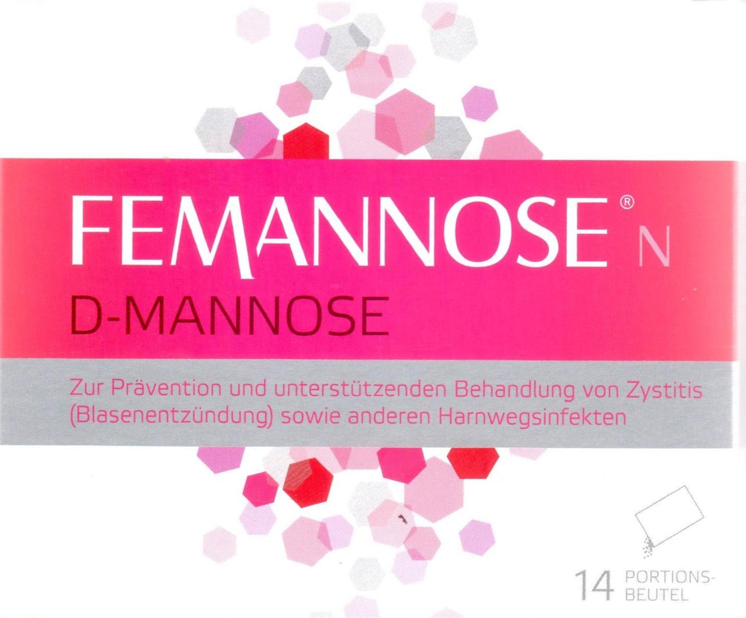 Femannose N 14 St. PZN 12828537 bei Blasenentzündung