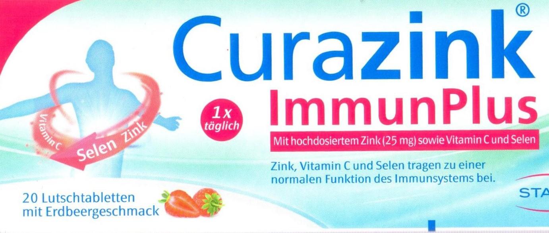 Curazink immun plus 20 St PZN 15626047