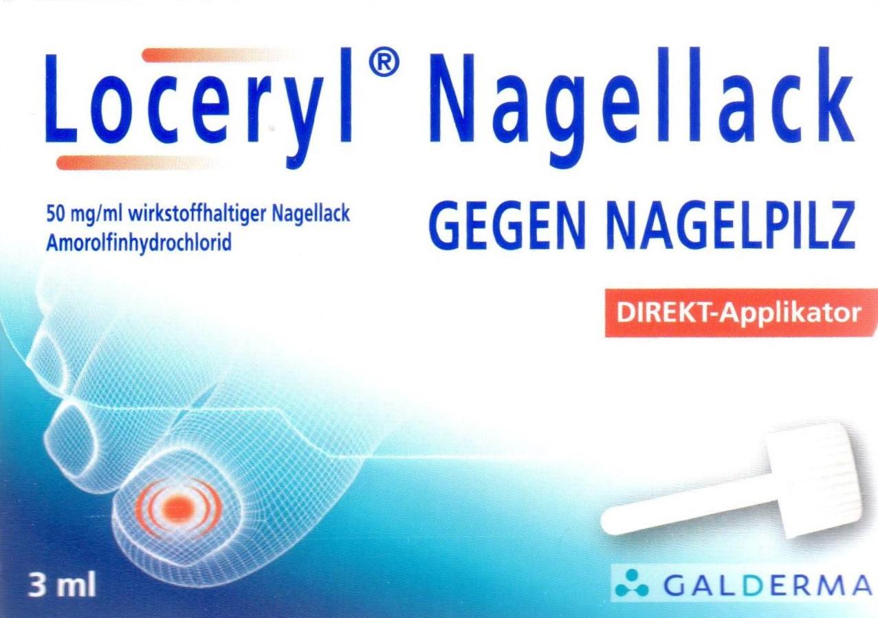 Loceryl Nagellack 3ml PZN: 11286175 Nagelpilz