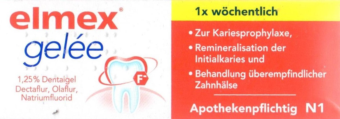 Elmex Gelee 25g PZN 03120822 Zahn