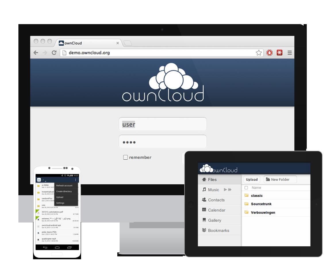 owncloud - Ihr Cloudspeicher