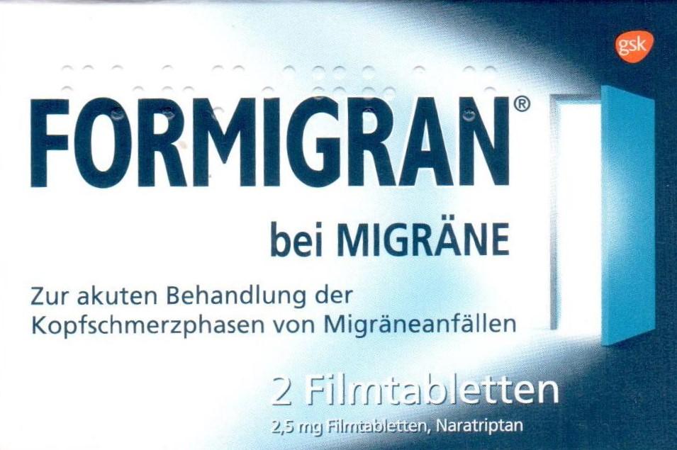 Formigran 2 St PZN 02195485 bei Migräne