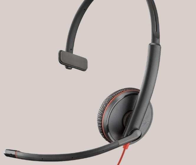 Plantronics Mono-Headset Blackwire C3210