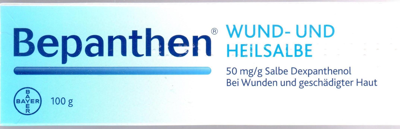 Bepanthen Wund und Heilsalbe 100g PZN 01578847 Haut