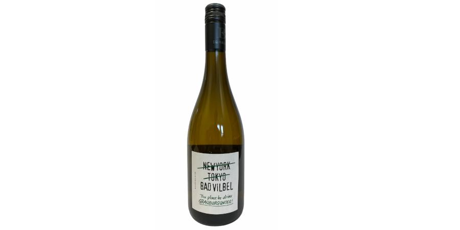 """Bad Vilbel"" Grauburgunder Wein"