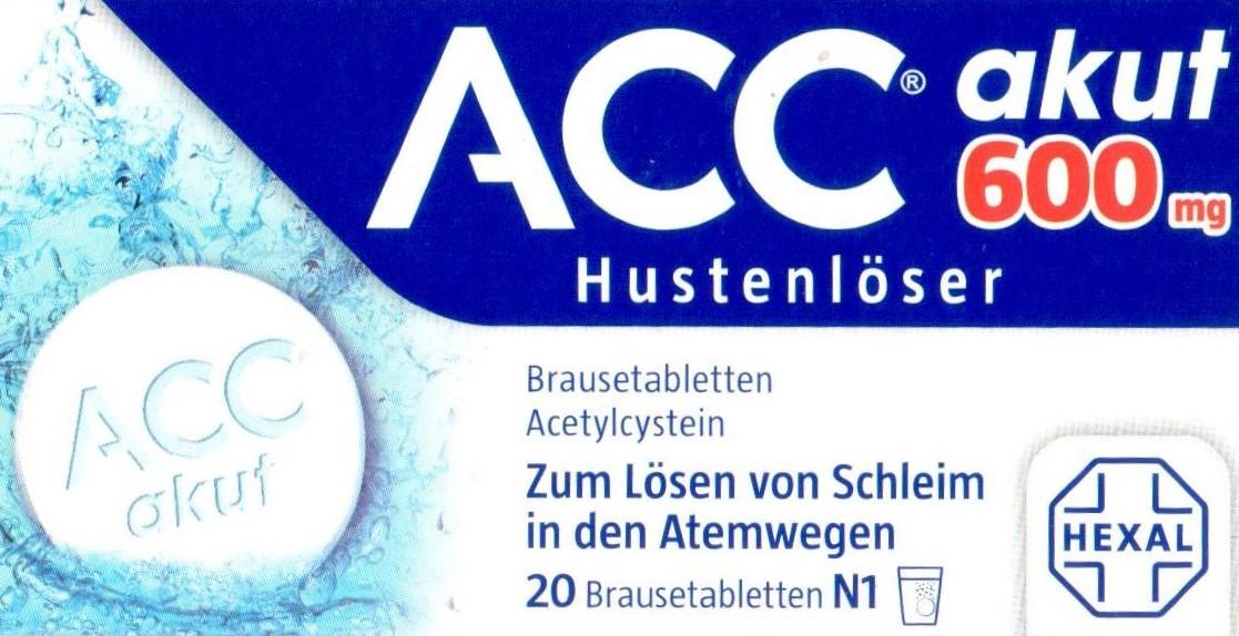Acc akut 600 20 St  PZN 00010808 Husten