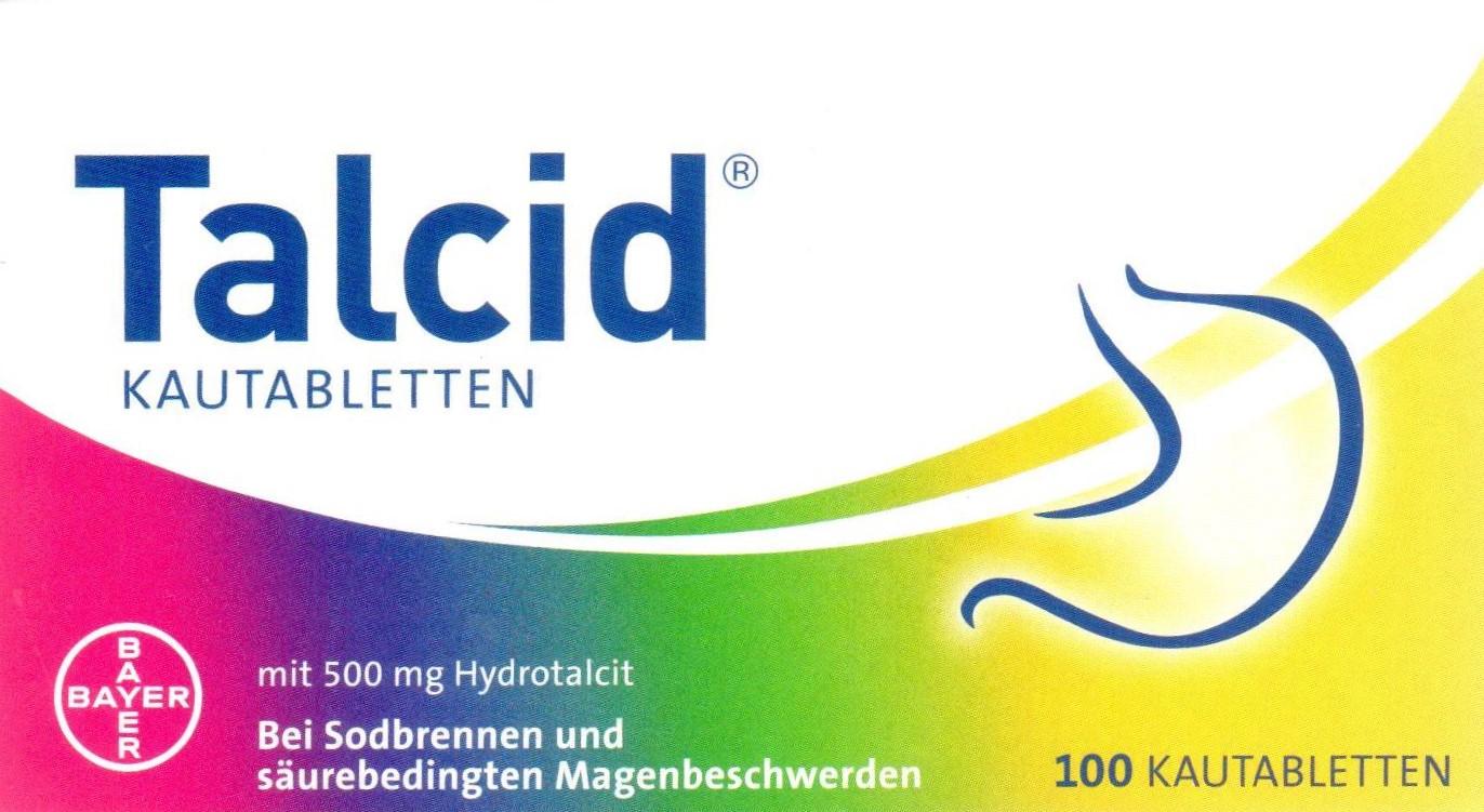 Talcid 100 St. PZN 01921682 Magen