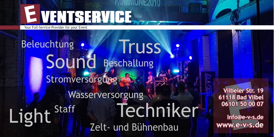EVENTSERVICE - Your Full-Service-Provider for your Event
