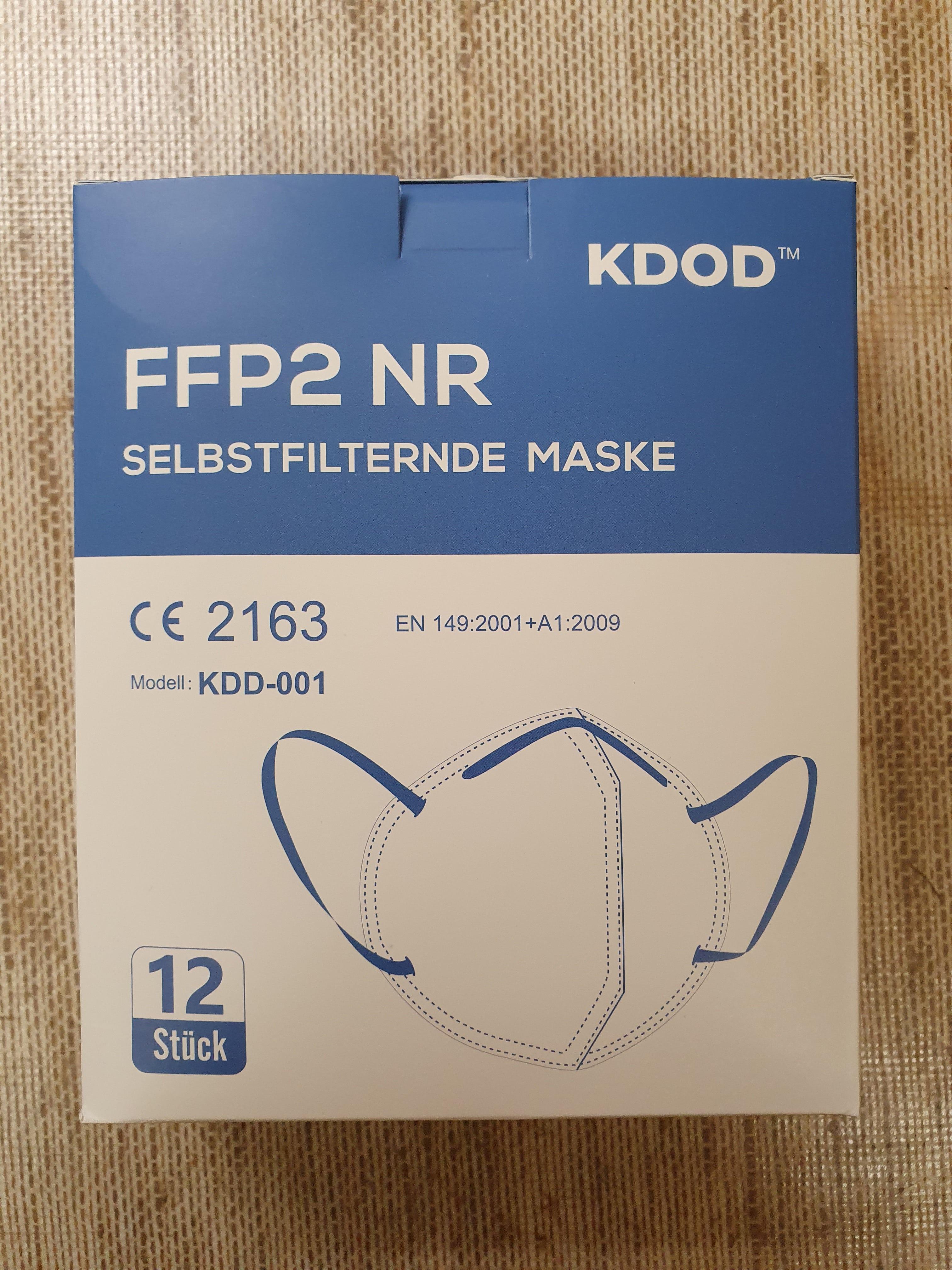 FFP2 Maske 12 Stück