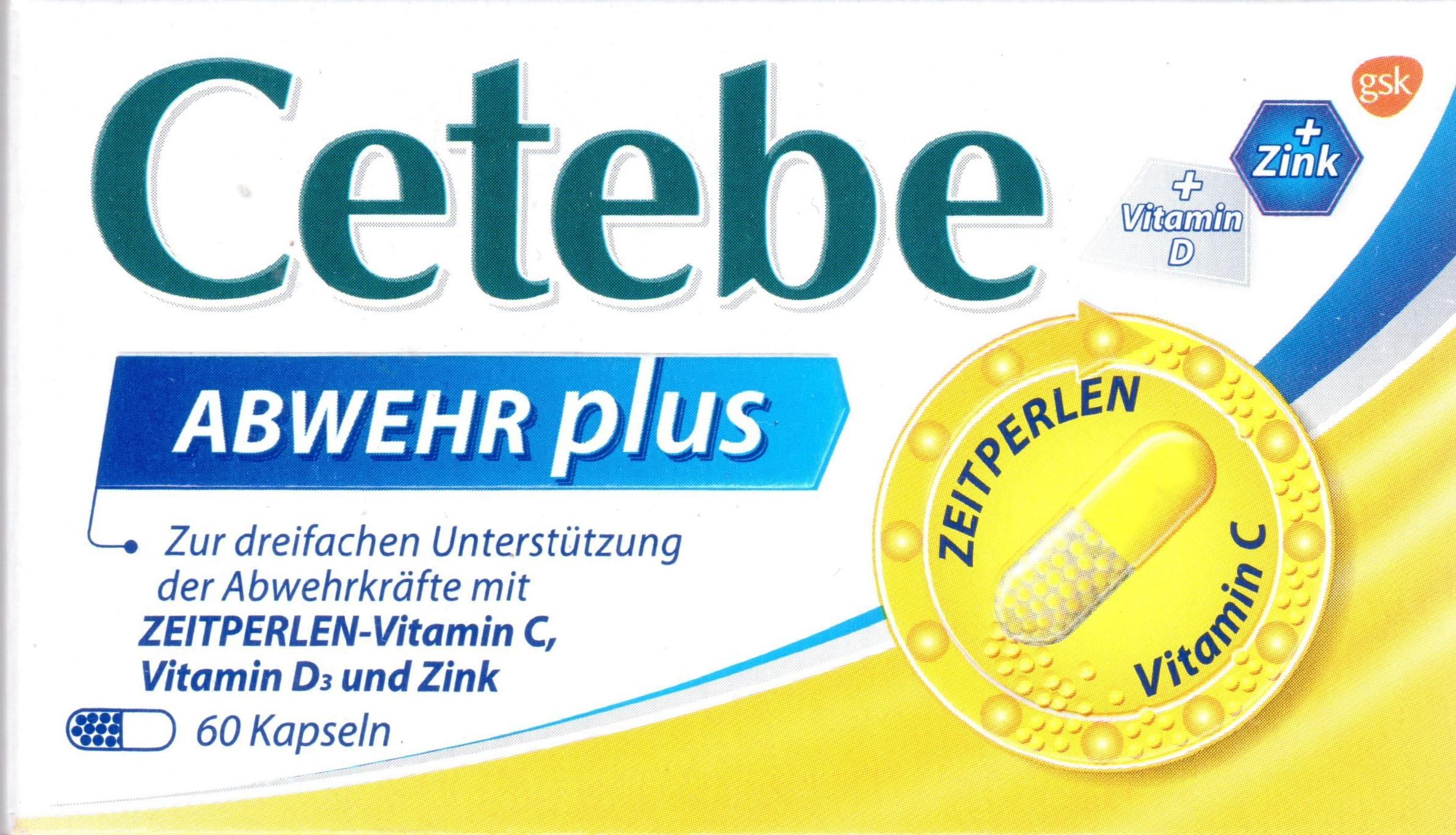 Cetebe Abwehr plus 30 St PZN: 02408188 Immun