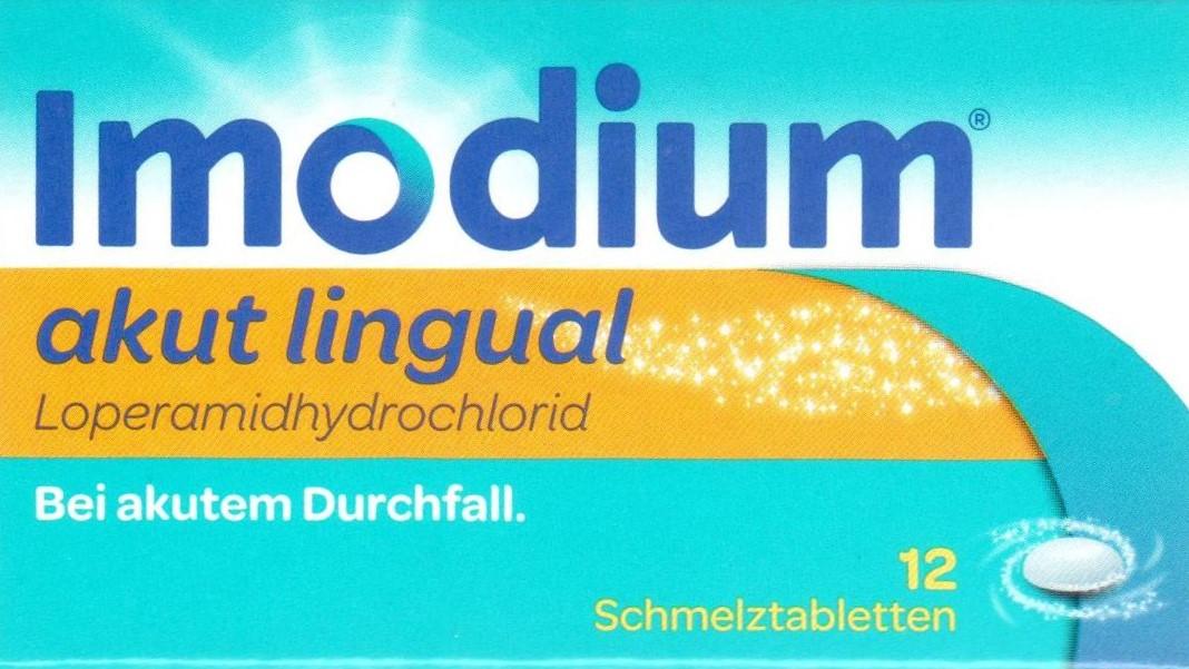 Imodium Lingual 12 St. PZN 01689854 Darm