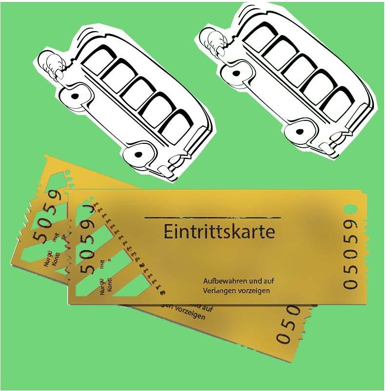 Eintrittskarten Service & Busreisen